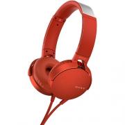 Наушники Sony MDR-XB550AP Red