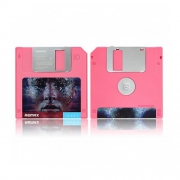 Внешний аккумулятор Remax Floppy Disk Power Bank RPP-17 Pink