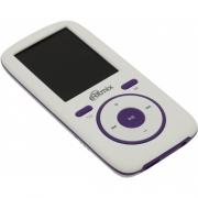 MP3 плеер Ritmix RF-4450 (4Gb) White/Violet