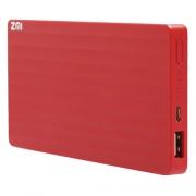 Внешний аккумулятор Xiaomi Mi Power Bank ZMI 10000 mAh red