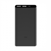 Внешний аккумулятор Xiaomi Mi Power Bank 2 10000 mAh 2 USB порта black