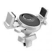 Автомобильный держатель Baseus Mechanical Era silver
