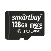 Карта памяти SmartBuy microSDXC Class 10 UHS-I U1 128GB
