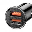 Автомобильная зарядка Baseus Dual QC Car Charger