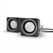 Компьютерная акустика Ritmix SP-2020 black/gray