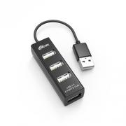 USB-разветвитель Ritmix CR-2402 black