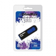 USB флэш-накопитель OltraMax 250 8GB Blue