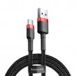 Кабель Baseus Cafule USB Tupe-C red+black 3m