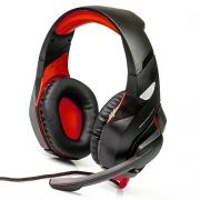 Компьютерная гарнитура DIALOG Gan-Kata HGK-31L black/red