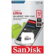 Карта памяти SanDisk Ultra microSDHC Class 10 UHS-I 100MB/s 32GB