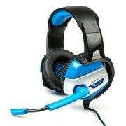 Компьютерная гарнитура DIALOG Gan-Kata HGK-37L black/blue