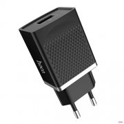 Сетевое зарядное устройство Hoco C42A Quick Charge Qualcomm QC3.0 Black