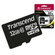 MicroSD 32GB  Transcend Class 10 TS32GUSDHC10