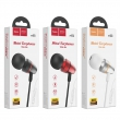 Hoco M59 Magnificent universal earphones with mic red