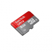 Sandisk Ultra microSDHC Class 10 UHS Class 1 8GB + SD adapter