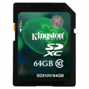 Карта памяти Kingston SDX10V/64GB