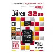 Mirex microSDHCClass10 UHS-IU132GB+SDadapter