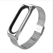 Браслет Milanese strap для Xiaomi mi Band 5 silver
