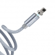 Кабель магнитный Hoco U40A Magnetic Adsorption Charging Cable Lightning 1м