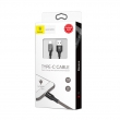 Кабель Baseus Tough Series 2A Type-C - USB 1м black