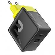 Сетевой блок питания Rock Sugar Travel Charger 2.4A 2 USB (US)