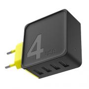 Сетевой блок питания Rock Sugar Travel Charger 4.0A 4 USB (US)