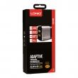 Зарядное устройство Ldnio 2 USB 2.4A + Lightning кабель (A2206)