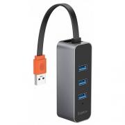 USB-концентратор Baseus Steel Cannon Series (CAHUB-AH0G)
