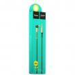 Кабель Hoco UPA02 AUX Spring Audio cable 2m black