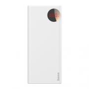 Аккумулятор Baseus Mulight Power Bank PD3.0+QC3.0 30000 mAh white