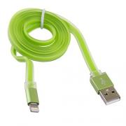 USB кабель Blast BMC-211 Green 1м