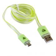 USB кабель Blast BMC-510 Green 1м