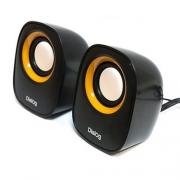 Компактная акустическая стереосистема с питанием USB AC-06UP Black