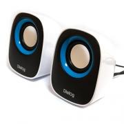 Компактная акустическая стереосистема с питанием USB AC-06UP Black-white
