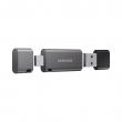 Накопитель USB Samsung DUO Plus 64Gb серый
