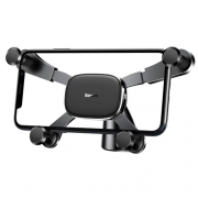 Автомобильный держатель Baseus Horizontal Screen Gravity Holder black