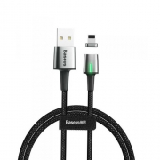 Кабель Baseus Zinc Magnetic Cable for iP 1m black