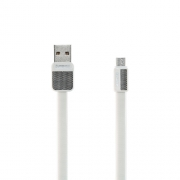 Кабель передачи данных Remax micro USB RC-044m Platinum cable white