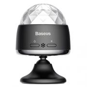 Портативный беспроводной световой музыкальный шар Baseus Car Crystal Magic Ball black