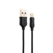 Кабель Hoco X6 KHAKI USB lightning 1m black