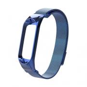 Браслет Milanese strap для Xiaomi mi Band 3 blue