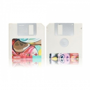 Внешний аккумулятор Remax Floppy Disk Power Bank RPP-17 White