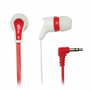 Наушники Ritmix RH-013 White+Red