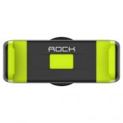 Держатель Rock Deluxe Vent Edition Car Holder black/green