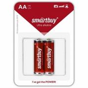 Батарейки Smartbuy LR6 (AA) 2шт в блистере