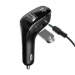 Baseus Streamer F40 AUX Wireless MP3 Car Charger с FM-трансмиттером