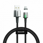 Кабель Baseus Zinc Magnetic Cable Tupe-C 2m black