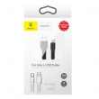 Кабель Baseus Tough Series 2A Micro USB - USB 1м black