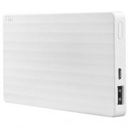Внешний аккумулятор Xiaomi Mi Power Bank ZMI 10000 mAh white
